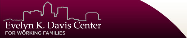 Evelyn K. Davis Center logo w/ link to home page